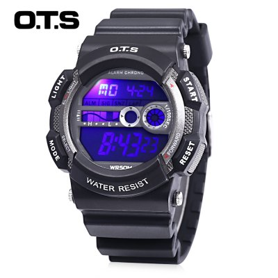 OTS T6900G Children LED Digital Watch