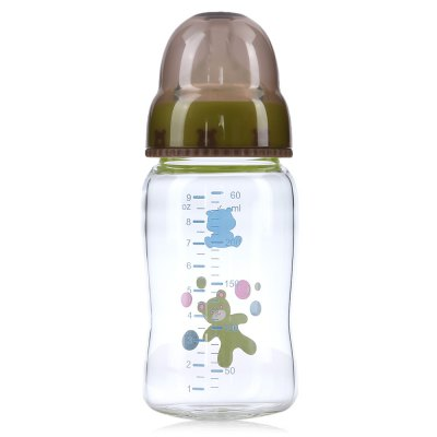 Snow Bear 260ml Lip Simulation Wide Neck Glass BottleFeeding<br>Snow Bear 260ml Lip Simulation Wide Neck Glass Bottle<br><br>Item Type: Bottles<br>Material: Glass<br>Shape/Pattern: Animal<br>Mouth Size: Wide Mouth<br>Capacity(ml): 260ml<br>Product weight: 0.1980 kg<br>Package weight: 0.2640 kg<br>Product size (L x W x H): 6.80 x 6.80 x 16.70 cm / 2.68 x 2.68 x 6.57 inches<br>Package size (L x W x H): 17.20 x 7.60 x 7.60 cm / 6.77 x 2.99 x 2.99 inches<br>Package Content: 1 x Feeding Bottle, 1 x Nipple Needle