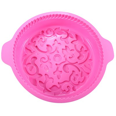 Flower Shaped Silicone Baking Cake Pan