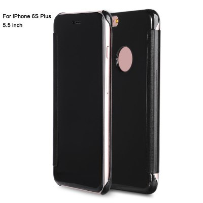 Mirror Luxury PC Flip Cover Case for iPhone 6S Plus 5.5 inch