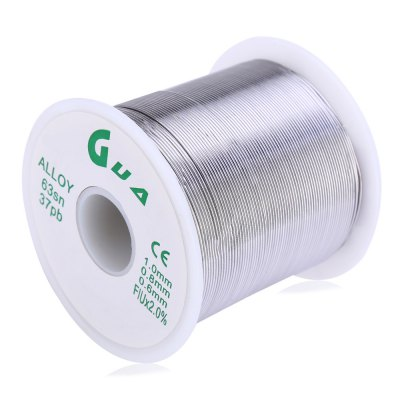 63sn 37pb 1.0MM Rosin Core Solder ToolSoldering Supplies<br>63sn 37pb 1.0MM Rosin Core Solder Tool<br><br>Package Contents: 1 x Solder<br>Package Size(L x W x H): 6.70 x 6.70 x 6.20 cm / 2.64 x 2.64 x 2.44 inches<br>Package weight: 0.550 kg<br>Product weight: 0.500 kg