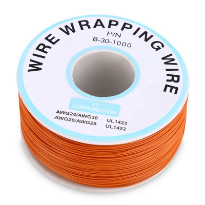 300M Tin Plated Copper Wire Insulation CableDIY Parts &amp; Components<br>300M Tin Plated Copper Wire Insulation Cable<br><br>Package Contents: 1 x Electronic Wire<br>Package Size(L x W x H): 6.90 x 6.90 x 3.20 cm / 2.72 x 2.72 x 1.26 inches<br>Package weight: 0.194 kg<br>Product weight: 0.170 kg