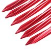 SHINETRIP 6pcs Spiral Tent Stake Peg with Reflective Rope deal