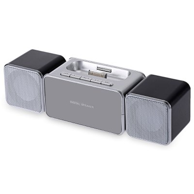 XKD12 Portable Speaker with Dock Station for iPhone