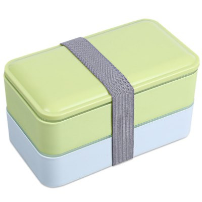 900ML 2-layer Lunch Box