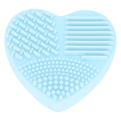 Silicone Heart Shaped Makeup Brush Cleaner