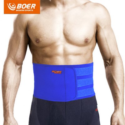 BOER Waist Lumbar Back Support Belt Fitness Sport Gear