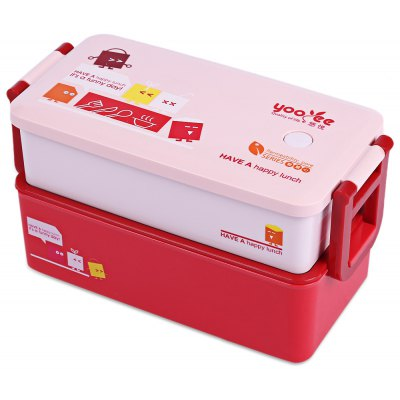 850ML 2-layer Lunch Box