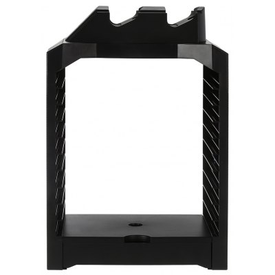 Dual Charger CD Game Storage Tower Holder for PS4