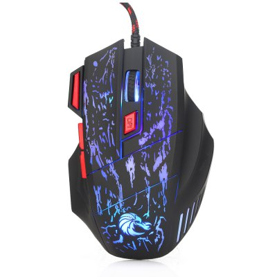 HXSJ H300 Wired Optical 7D Gaming Mouse