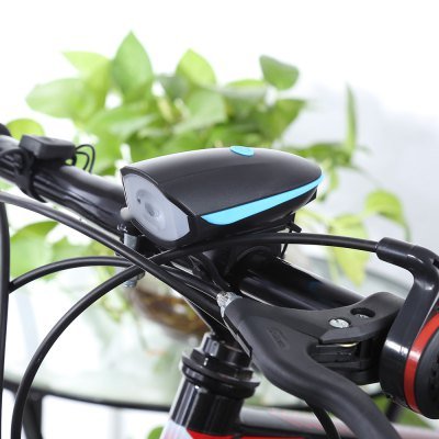 Mountain Bike Cycling Headlight with Electric Horn