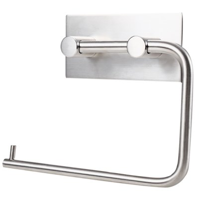 Stainless Steel Wall Mount Tissue Roll Holder