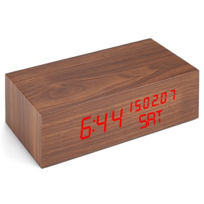 Creative Wooden LED Clock