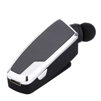 QP - 16 Clip Retractable Stereo Bluetooth Headset
