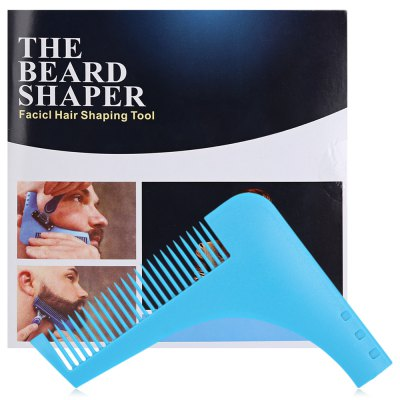 Beard Shaping Tool Trim Template Modeling Comb