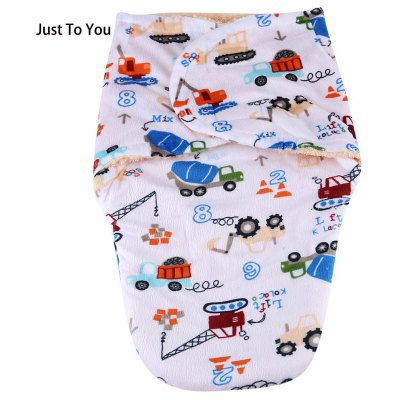 JUST TO YOU Swaddling Pack Towel Sleeping Bag Hold Blanket