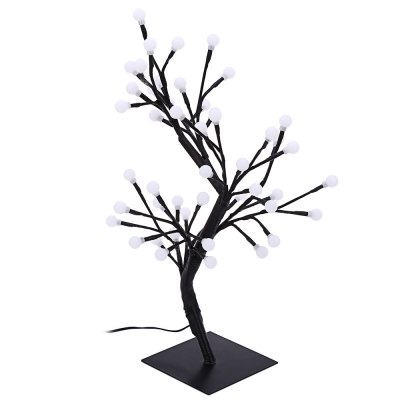2W 48 LEDs Round Tree Light Decoration Night LampNight Lights<br>2W 48 LEDs Round Tree Light Decoration Night Lamp<br><br>Body Material: Plastic<br>Emitting color: Blue,White<br>Is Batteries Included: No<br>Is Batteries Required: No<br>Is Bulbs Included: Yes<br>Light Source: LED Bulbs<br>Package Contents: 1 x 2W 48 LEDs Round Tree Light Decoration Night Lamp, 1 x Charger<br>Package Size(L x W x H): 50.00 x 15.00 x 14.50 cm / 19.69 x 5.91 x 5.71 inches<br>Package weight: 0.705 kg<br>Power Source: AC<br>Product weight: 0.480 kg<br>Type: Lamp, Night Light, Atmosphere<br>Wattage: 0-5W