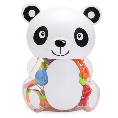 Baby Lovely Colorful Hand Shake Bell Set with Bottle - Panda