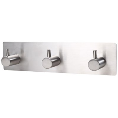 Stainless Steel Self Adhesive Wall Mount Straight Hook