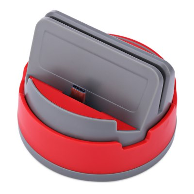 360 Degree Rotating Type-C Dock Cradle Charging Station