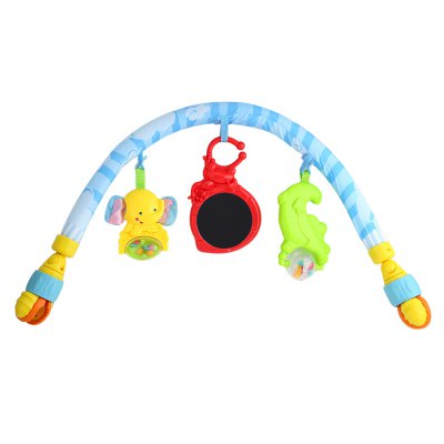 Baby Infant Bed Crib Hanging Rattles Mobile Toy