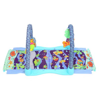 Baby Play Mat Gym Blanket with Frame