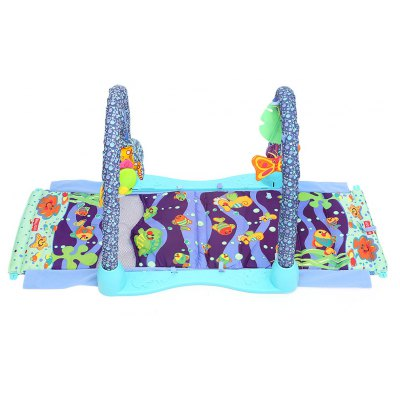 Baby Soft Sea World Play Mat Gym Blanket with Frame