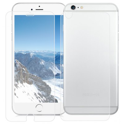 2 in 1 3D Toughened Glass Film for iPhone 6 / 6S