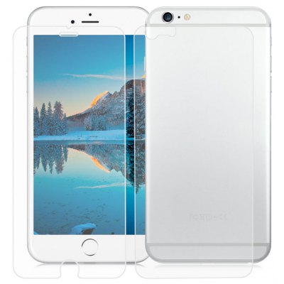 2 in 1 3D Toughened Glass Film for iPhone 6 Plus / 6S Plus