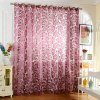 cheap 100 x 250cm Flower Printed Tulle Curtains