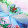 30 x 45cm 5D Couple Swan Lake Painting Cross Stitch Tool deal