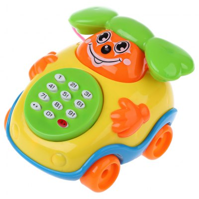 Baby Cartoon Musical Phone Educational Toy