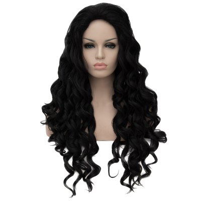Women Sexy Long Curly Wavy Natural Full Wig