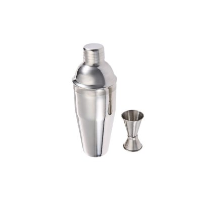 2pcs Stainless Steel Cocktail Shaker