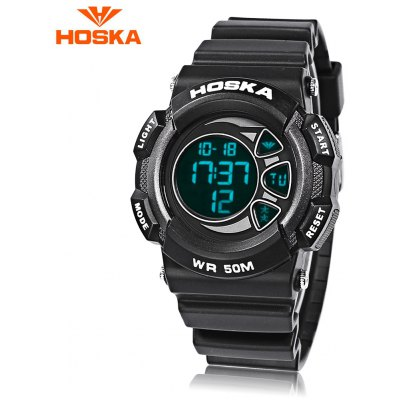 HOSKA H020B Children LED Digital Watch