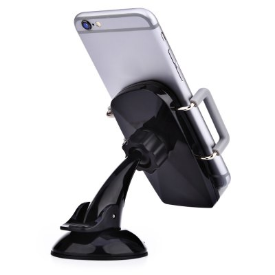 360 Degree Universal Car Cellphone HolderCar Phone Holder<br>360 Degree Universal Car Cellphone Holder<br><br>Color: Black<br>Package Contents: 1 x Cellphone Holder<br>Package Size(L x W x H): 17.00 x 9.00 x 8.50 cm / 6.69 x 3.54 x 3.35 inches<br>Package weight: 0.144 kg<br>Product weight: 0.102 kg