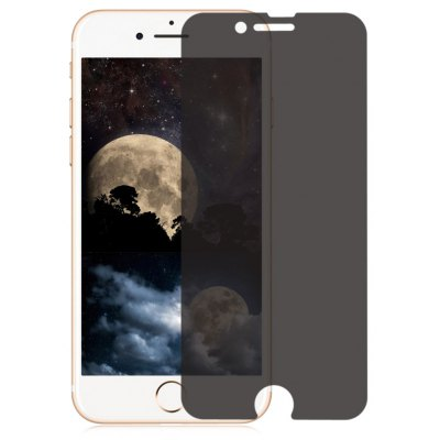 Anti-sight 9H Tempered Glass Film for iPhone 7 Plus 0.33mm