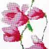 cheap 105 x 35cm 5D Butterfly Magnolia Painting Cross Stitch Tool