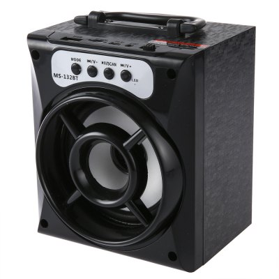 MS - 132BT Output Wireless Bluetooth Speaker for ipad