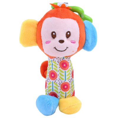 Lovely Animal Bed Bells Rattle Developmental Toy for Baby