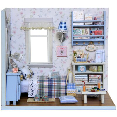 CUTEROOM H - 003 DIY Wooden House
