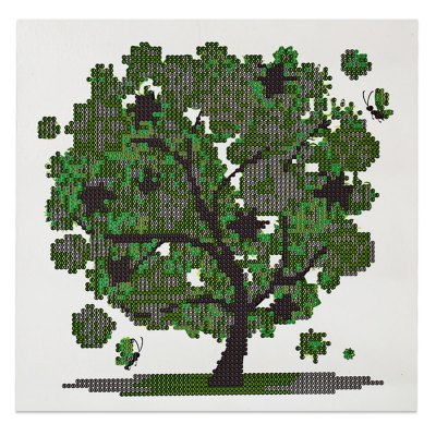 30 x 30cm 5D Fortune Tree Painting Cross Stitch Tool