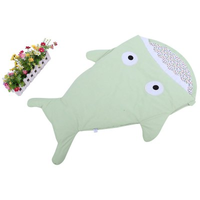 Warm Cartoon Shark Babies Sleep Bag Thick Infant BlanketBaby Bedding<br>Warm Cartoon Shark Babies Sleep Bag Thick Infant Blanket<br><br>Material: Cotton<br>Sleeve Length: Short<br>Collar: Collarless<br>Pattern Type: Animal<br>Gender: For Unisex<br>Suitable Age: 0-36 months<br>Item Type: Blanket Sleepers<br>Product weight: 0.425 kg<br>Package weight: 0.447 kg<br>Package Content: 1 x Babies Sleep Bag
