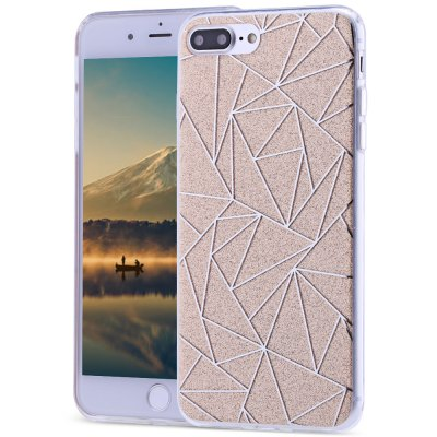 Dazzle Rhombic Protective Back Cover for iPhone 7 Plus 5.5 inch