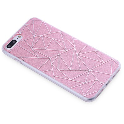 Dazzle Rhombic Back Cover for iPhone 7 Plus 5.5 inch