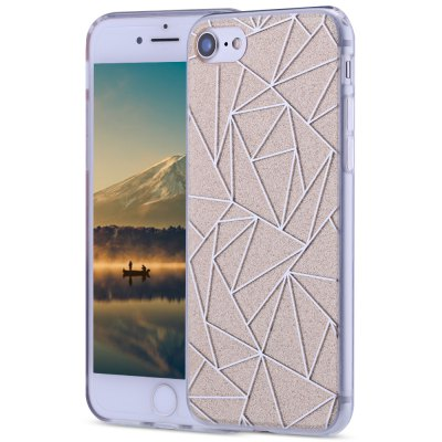 Dazzle Rhombic Protective Back Cover for iPhone 7 4.7 inch