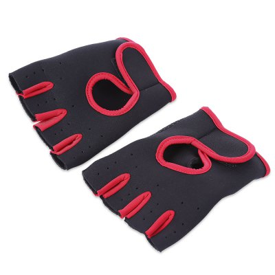 Paired Exercise Warm Protection Half Finger Glove