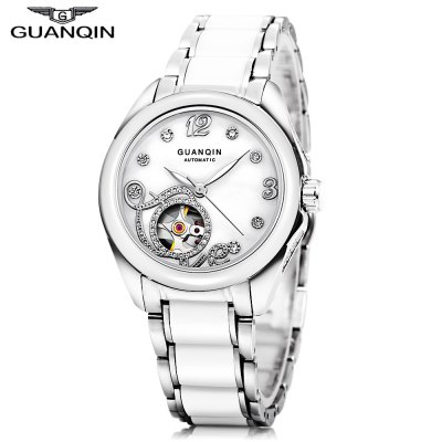 GUANQIN GJ16038 Women Auto Mechanical Watch