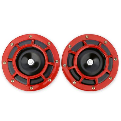 Pair of Vehicle Universal Electroplate Horn