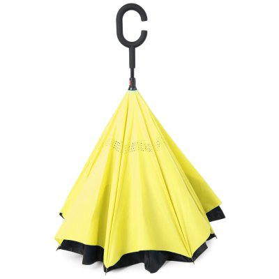Reverse Folding Double Layer UmbrellaHome Gadgets<br>Reverse Folding Double Layer Umbrella<br><br>Age Group: Adults,Children<br>Pattern: Long-handle Umbrella<br>Product: Umbrella<br>Product weight: 0.550 kg<br>Package weight: 0.573 kg<br>Package Size(L x W x H): 82.00 x 12.00 x 6.00 cm / 32.28 x 4.72 x 2.36 inches<br>Package Contents: 1 x Umbrella